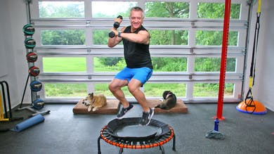 Trampoline HIIT Workout by John Garey TV