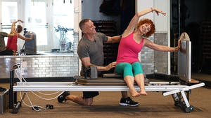 Instant Access to Beginner Reformer Workout for the 60+ Crowd by John Garey TV, powered by Intelivideo