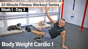 20 Minute Fitness Workout Series - Body Weight Cardio 1 by John Garey TV
