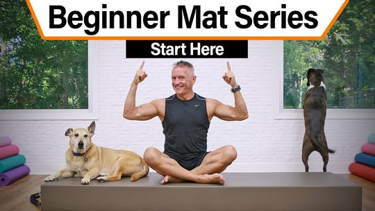 Beginner Pilates Mat Series by John Garey TV