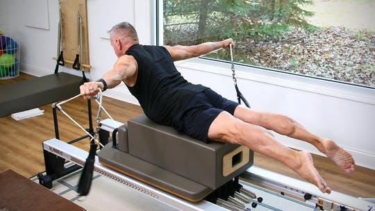 30 Minute Intermediate Reformer Workout 11-11-19 by John Garey TV