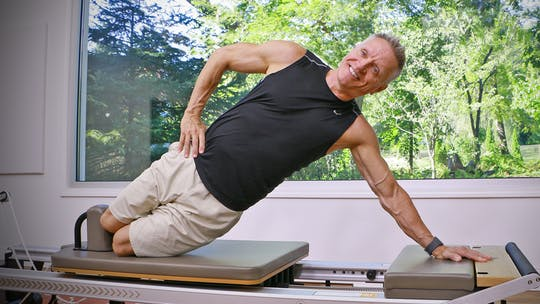 Beginner Reformer Series Workout 6 by John Garey TV, powered by Intelivideo