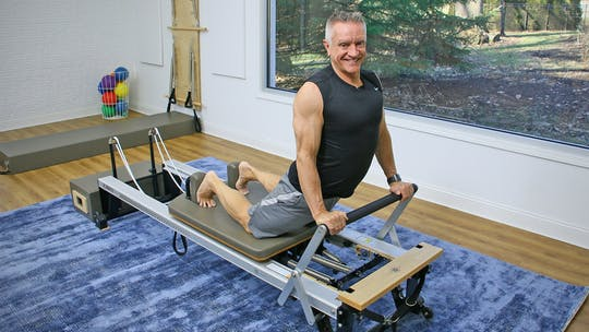 Beginner Reformer Workout 1-6-20 by John Garey TV
