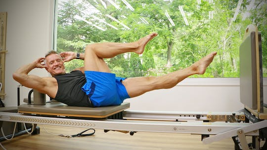Reformer Jumpboard Strength and Power Workout by John Garey TV
