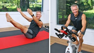 Cycle and Mat Workout 10-9-20 by John Garey TV