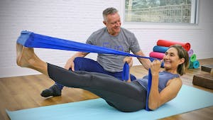 Athletic Mat Workout with Flexband with Patty 3-27-19 by John Garey TV