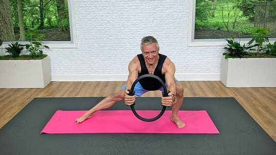 Mat Circuit Workout with Pilates Circle 6-3-20 by John Garey TV