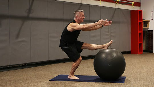Instant Access to Mat and Swiss Ball Express Workout 2-7-18 by John Garey TV, powered by Intelivideo