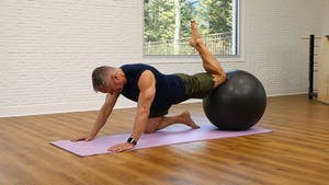 Instant Access to Pilates Mat on the Ball - The Reformer Workout 6-13-18 by John Garey TV, powered by Intelivideo