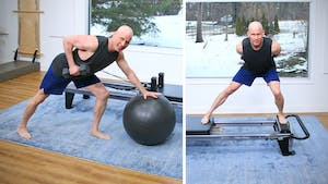 Reformer and Dumbbell Workout with Joe by John Garey TV
