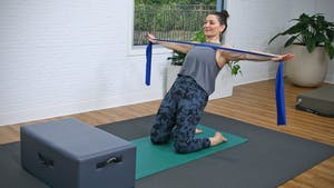 Beginner Pilates Mat and Yoga Fusion with Resistance Band by John Garey TV