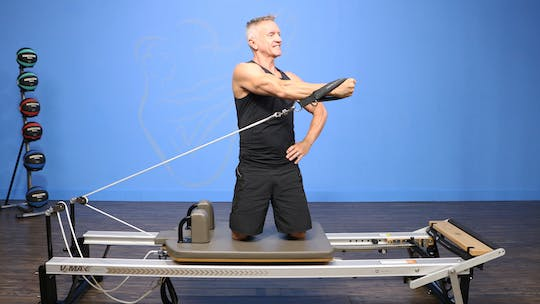 Reformer Arms and Abs Circuit Workout by John Garey TV, powered by Intelivideo