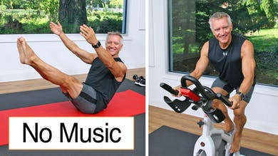 Cycle and Mat Workout No Music 10-9-20 by John Garey TV