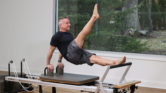 Advanced Reformer Workout 5-7-18 by John Garey TV