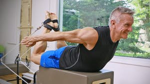 Instant Access to Reformer Straps Workout 2 by John Garey TV, powered by Intelivideo