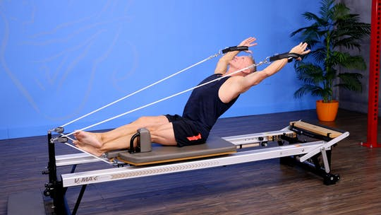 Top 5 Exercises for an Advanced Reformer Express Workout 10-30-17 by John Garey TV, powered by Intelivideo