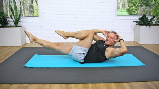 5 Minute Workout Series - Pilates Mat Abs and Lower Back Workout 1 by John Garey TV