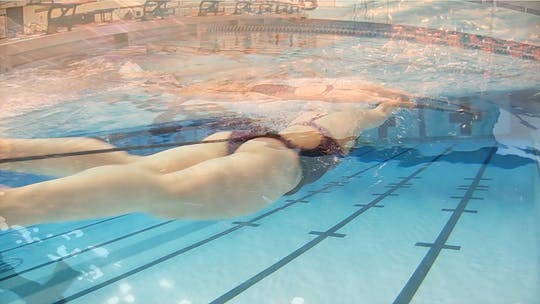 Instant Access to Butterfly Swim with Cord: Cammile Adams by Fitter and Faster Swim Tour, powered by Intelivideo