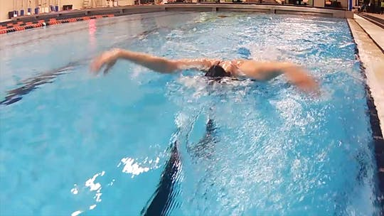 Instant Access to Full Stroke Butterfly: Cammile Adams by Fitter and Faster Swim Tour, powered by Intelivideo