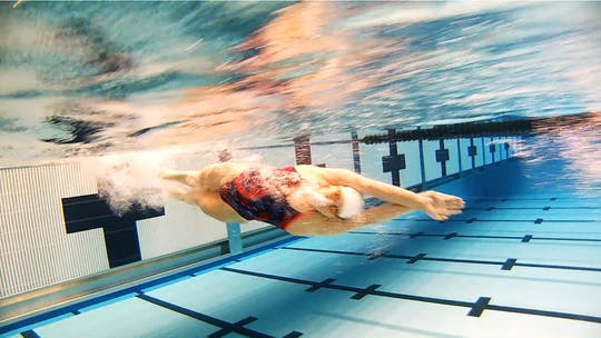 Instant Access to Flip Turn: Chloe Sutton by Fitter and Faster Swim Tour, powered by Intelivideo