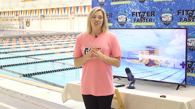 Chloe Sutton Introduction by Fitter and Faster Swim Tour
