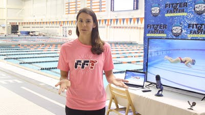 Laura Sogar Introduction by Fitter and Faster Swim Tour