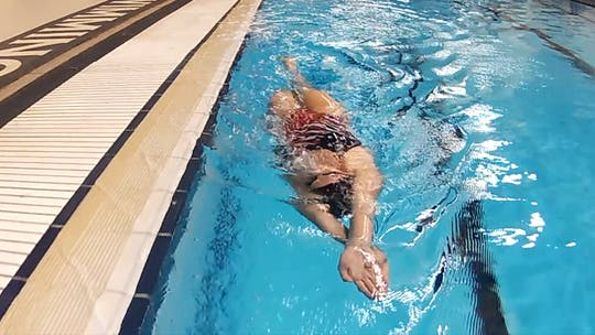 Instant Access to Rotisserie Kick: Chloe Sutton by Fitter and Faster Swim Tour, powered by Intelivideo