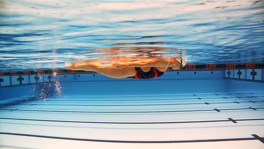 Instant Access to Stationary Flip Turn: Chloe Sutton by Fitter and Faster Swim Tour, powered by Intelivideo