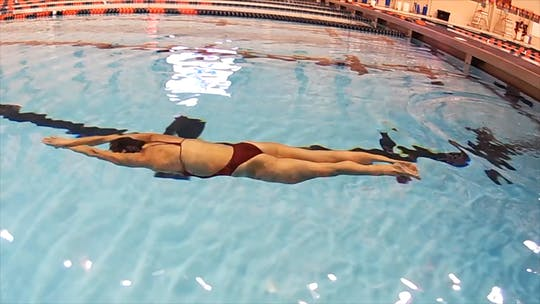 Instant Access to Breaststroke Pull Out: Laura Sogar by Fitter and Faster Swim Tour, powered by Intelivideo