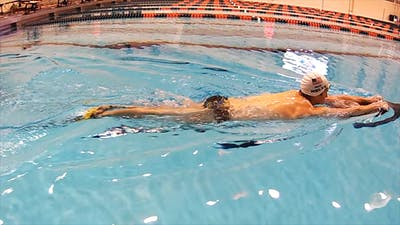 Instant Access to Breaststroke Kick with PDFs: Scott Weltz by Fitter and Faster Swim Tour, powered by Intelivideo