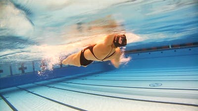 Backstroke Swim: Jessica Long by Fitter and Faster Swim Tour