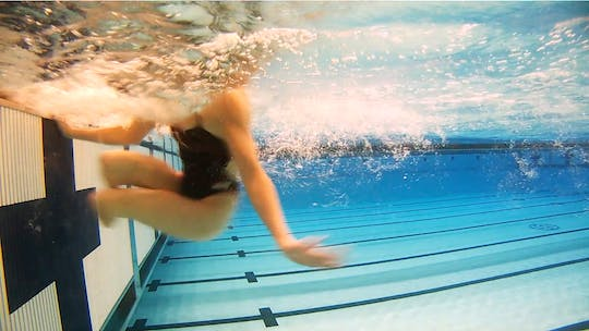 Instant Access to Open Turns: Jessica Long by Fitter and Faster Swim Tour, powered by Intelivideo