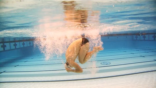 Instant Access to Spin Drill for Open Turns: Scott Weltz by Fitter and Faster Swim Tour, powered by Intelivideo