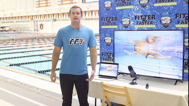 Tyler Clary Introduction by Fitter and Faster Swim Tour