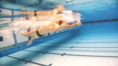 Instant Access to Modified Double Arm Backstroke: Tyler Clary by Fitter and Faster Swim Tour, powered by Intelivideo