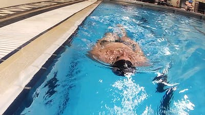 Instant Access to Sit Up Backstroke: Tyler Clary by Fitter and Faster Swim Tour, powered by Intelivideo