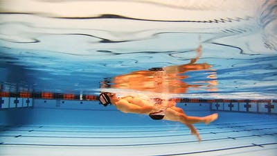Backstroke - T drill: Nick Thoman by Fitter and Faster Swim Tour