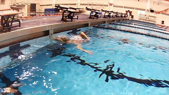 Instant Access to Catch Up Backstroke: Nick Thoman by Fitter and Faster Swim Tour, powered by Intelivideo