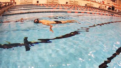Floating Flip Turn into Streamline: Nick Thoman by Fitter and Faster Swim Tour