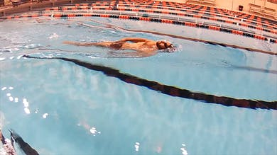 Single Arm Backstroke: Nick Thoman by Fitter and Faster Swim Tour