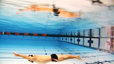 Underwater Fish Kick: Nick Thoman by Fitter and Faster Swim Tour
