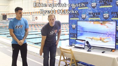Bruno Fratus & Brett Hawke Introdution by Fitter and Faster Swim Tour