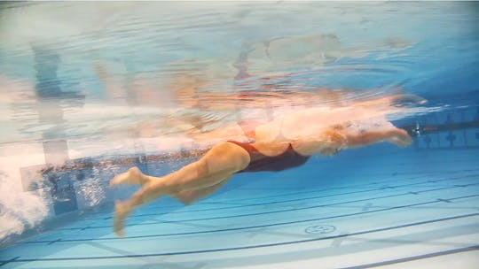 Instant Access to Clip: Breaststroke with a Flutter Kick by Fitter and Faster Swim Tour, powered by Intelivideo
