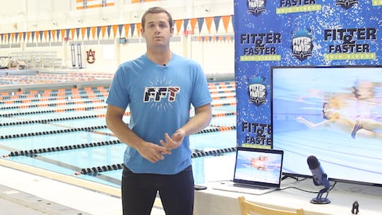 Tyler Clary by Fitter and Faster Swim Tour