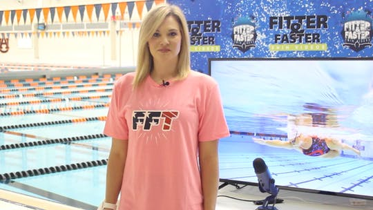 Chloe Sutton by Fitter and Faster Swim Tour