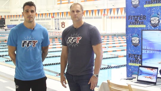 Bruno Fratus with Brett Hawke by Fitter and Faster Swim Tour