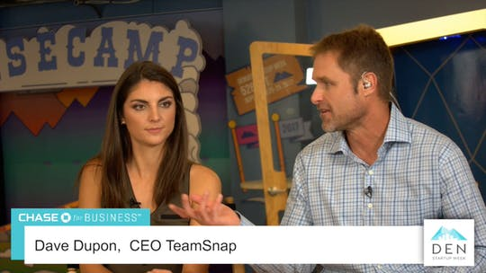 Instant Access to Dave Dupont - CEO, TeamSnap by dswlive, powered by Intelivideo
