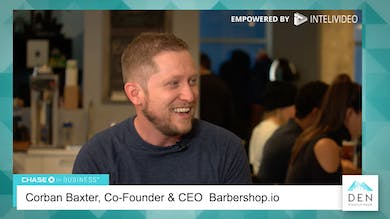 Corban Baxter - Co-Founder & CEO, Barbershop.io by dswlive