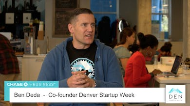 Ben Deda - Co-founder, Denver Startup Week by dswlive