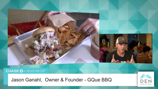 Instant Access to Jason Ganahl - Owner & Founder, GQued BBQ by dswlive, powered by Intelivideo